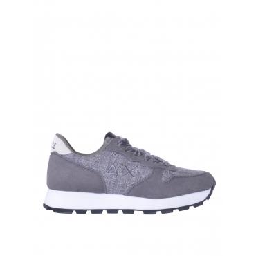 Sneaker donna Sun 68 effetto tweed grigio