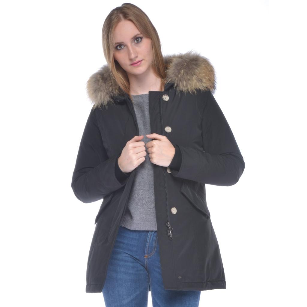 Ws Arctic Slim Jacket Black Women's Woolrich Parka vnxw8qUddR
