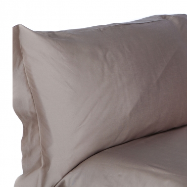 Set Lenzuola letto singolo in raso di cotone egiziano 300 fili Prisma