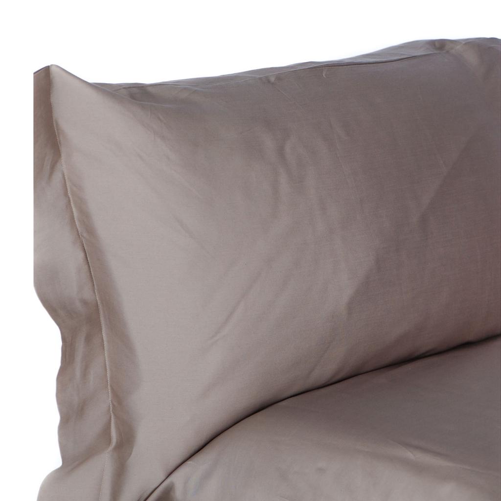 Lenzuola In Raso Nere.Pro Filo Set Completo Lenzuola Letto In Raso Di Cotone Egiziano 3