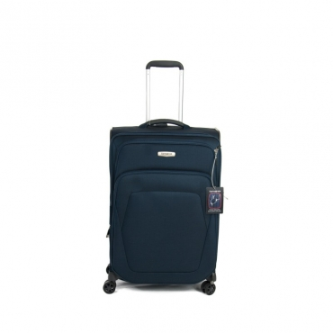 Samsonite Trolley Spark SNG Spinner espandibile (4 ruote) 69cm Blue