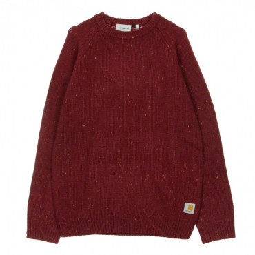MAGLIONE ANGLISTIC SWEATER MULBERRY HEATHER