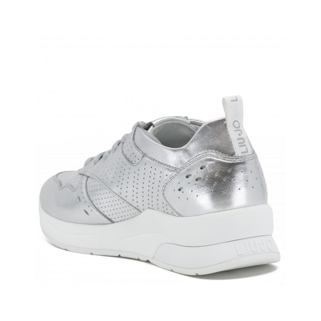 LIU JO Sneakers Karlie 14 metalliche METALLICLEAT Scarpe |Bowdo