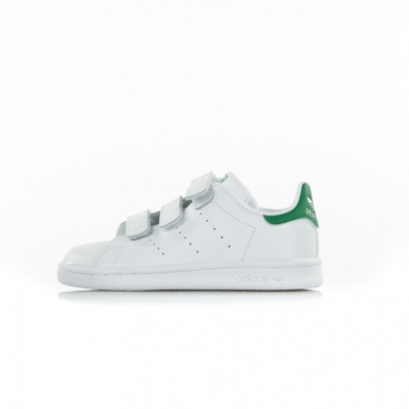 SCARPA BASSA STAN SMITH CF C WHITE/WHITE/GREEN