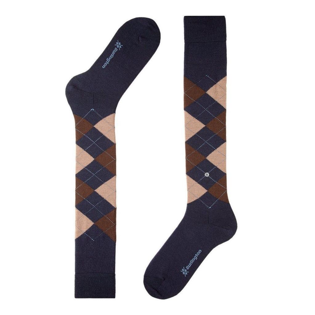 più colori nuovo massimo alta moda Calzini Burlington Uomo Calzini al ginocchio LEEDS-Nero Calze e ...