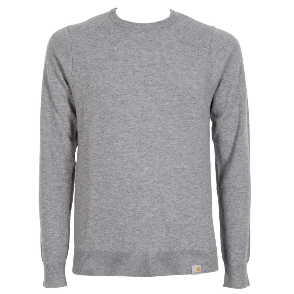 Pullover Playoff girocollo in misto lana ZM00DARKGREY