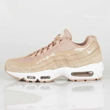 SCARPA BASSA W AIR MAX 95 PARTICLE PINK/SILT RED/WHITE