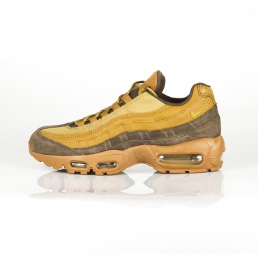 SCARPA BASSA AIR MAX 95 PRM BAROQUE BROWN/GOLDEN BEIGE