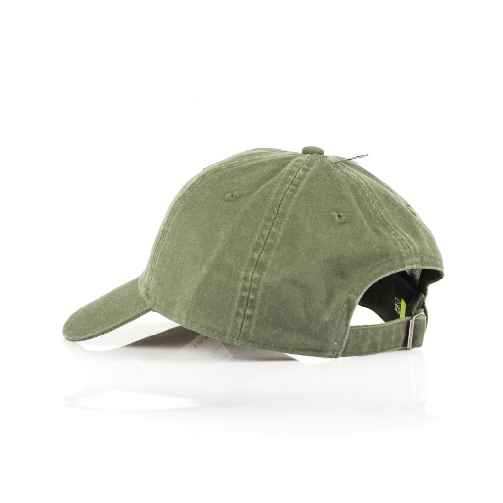 CAPPELLO VISIERA CURVA H86 FUTURA WASHED DARK GREEN WHITE ... d0c5373323ff
