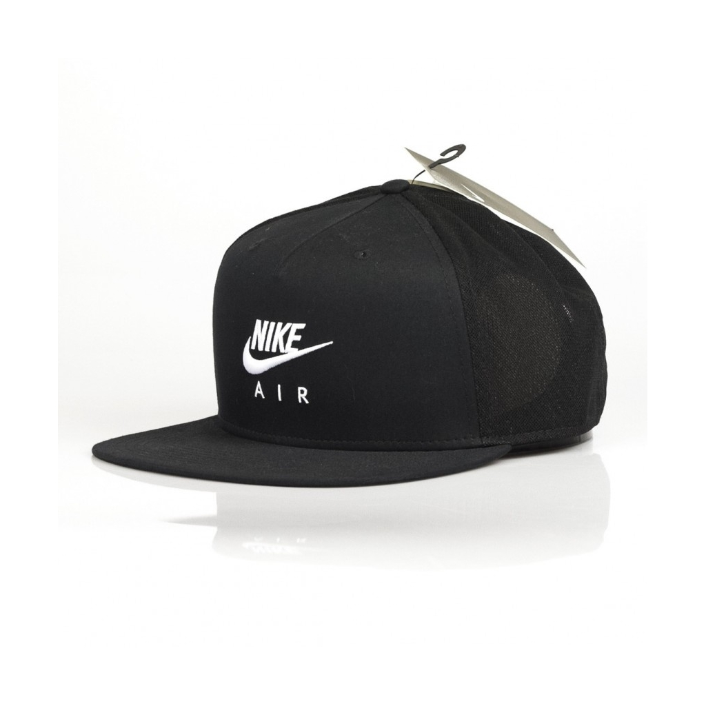 ... CAPPELLO SNAPBACK PRO NIKE AIR BLACK WHITE ... f20f2fccf4bb