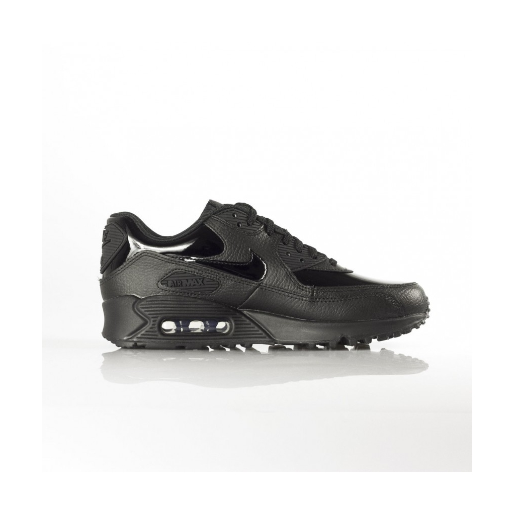 LOW SHOE W AIR MAX 90 LEATHER BLACK   BLACK   BLACK  77b6bb3208