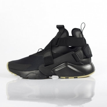 SCARPA BASSA W AIR HUARACHE  CITY BLACK/BLACK/DARK GREY
