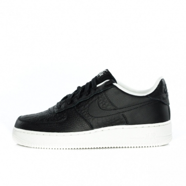 SCARPA BASSA AIR FORCE 1 LV8 GS BLACK/BLACK/SUMMIT WHITE