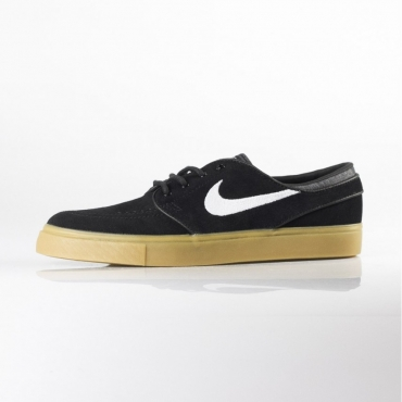 SCARPE SKATE NIKE ZOOM STEFAN JANOSKI BLACK/WHITE/GUM LIGHT BROWN