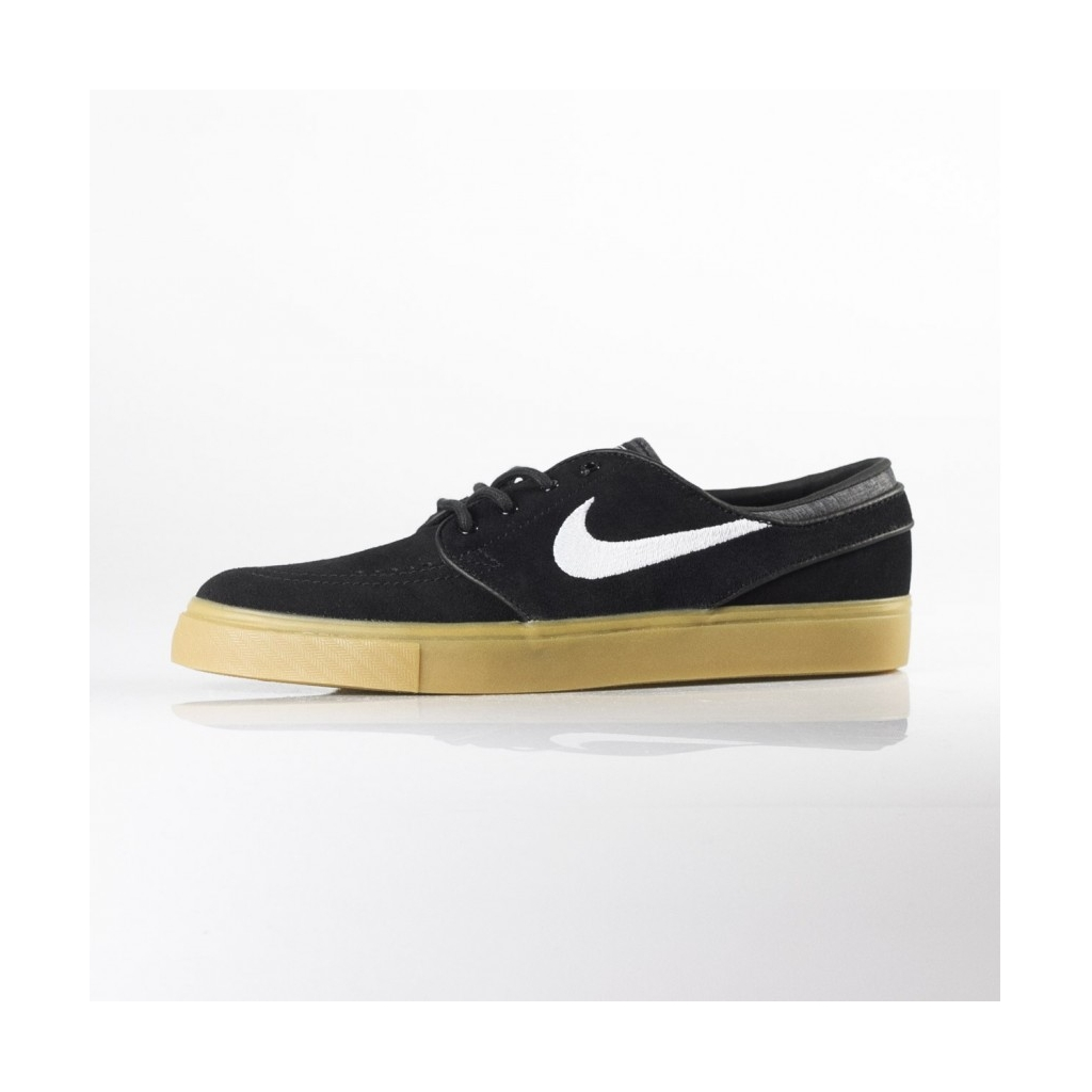 a47da01781016 SKI NIKE SHOES ZOOM STEFAN JANOSKI BLACK   WHITE   GUM LIGHT BROWN ...