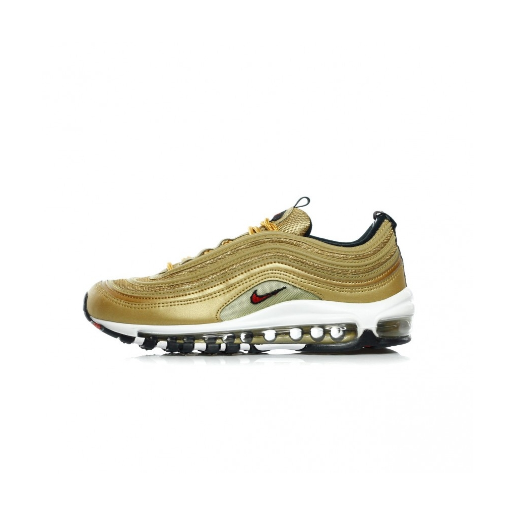 the latest e2508 ed125 LOW SHOE AIR MAX 97 OG QS METALLIC GOLD   VARSITY RED