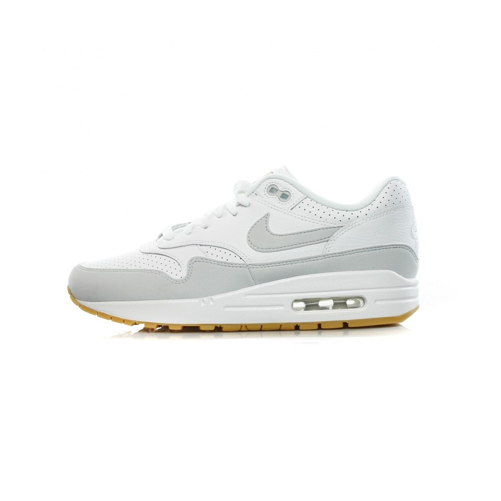 size 40 fadd5 3faf8 SCARPA BASSA AIR MAX 1 WHITE PURE PLATINUM GUM YELLOW