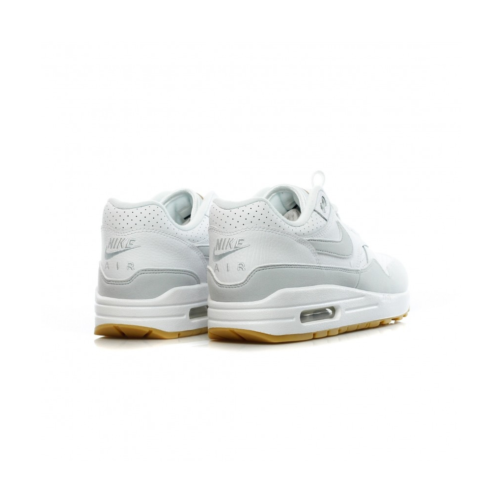 ... Mens Clothing  newest collection 883ec 7dee1 LOW SHOE AIR MAX 1 WHITE  PURE PLATINUM GUM YELLOW Bowdoo. ... b6fc2a92840
