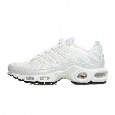 SCARPA BASSA WMNS AIR MAX PLUS PRM WHITE/WHITE/WHITE/BLACK