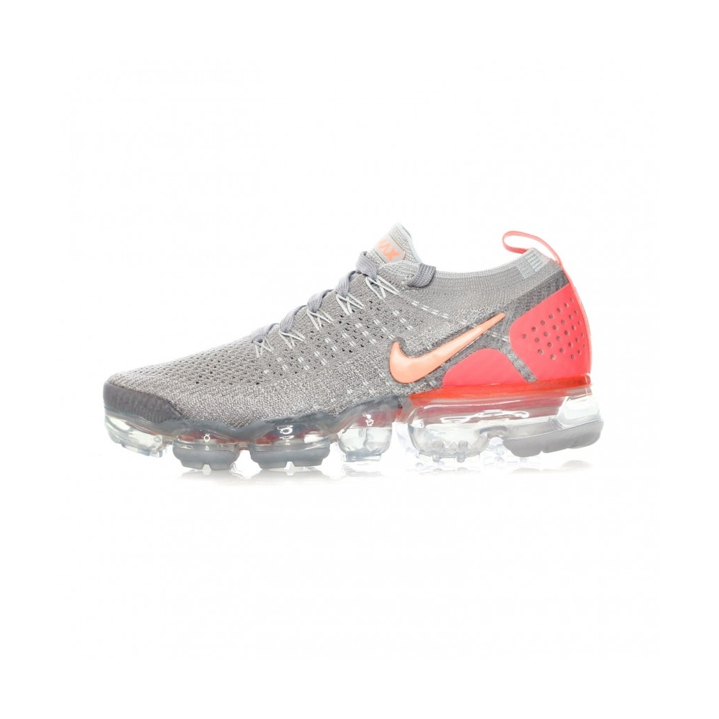 newest 2887f b6109 LOW SHOE W AIR VAPORMAX FLYKNIT 2 ATMOSPHERE GRAY / CRIMSON PULSE ...