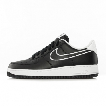 SCARPA BASSA AIR FORCE 1 07 LTHR BLACK/WHITE