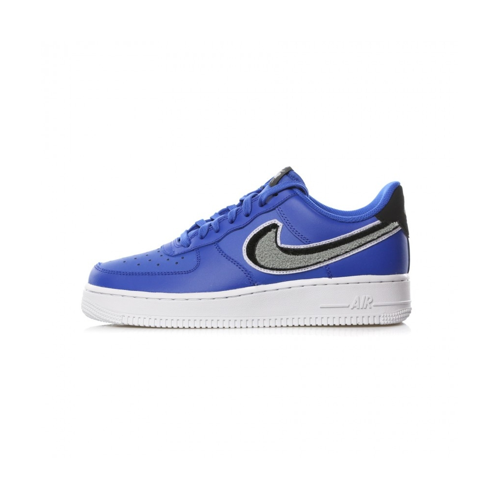 3ab8704591e2a LOW SHOE AIR FORCE 1 07 LV8 GAME ROYAL   WOLF GRAY   BLACK
