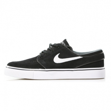 SCARPA BASSA ZOOM STEFAN JANOSKI OG BLACK/WHITE/GUM/LIGHT BROWN