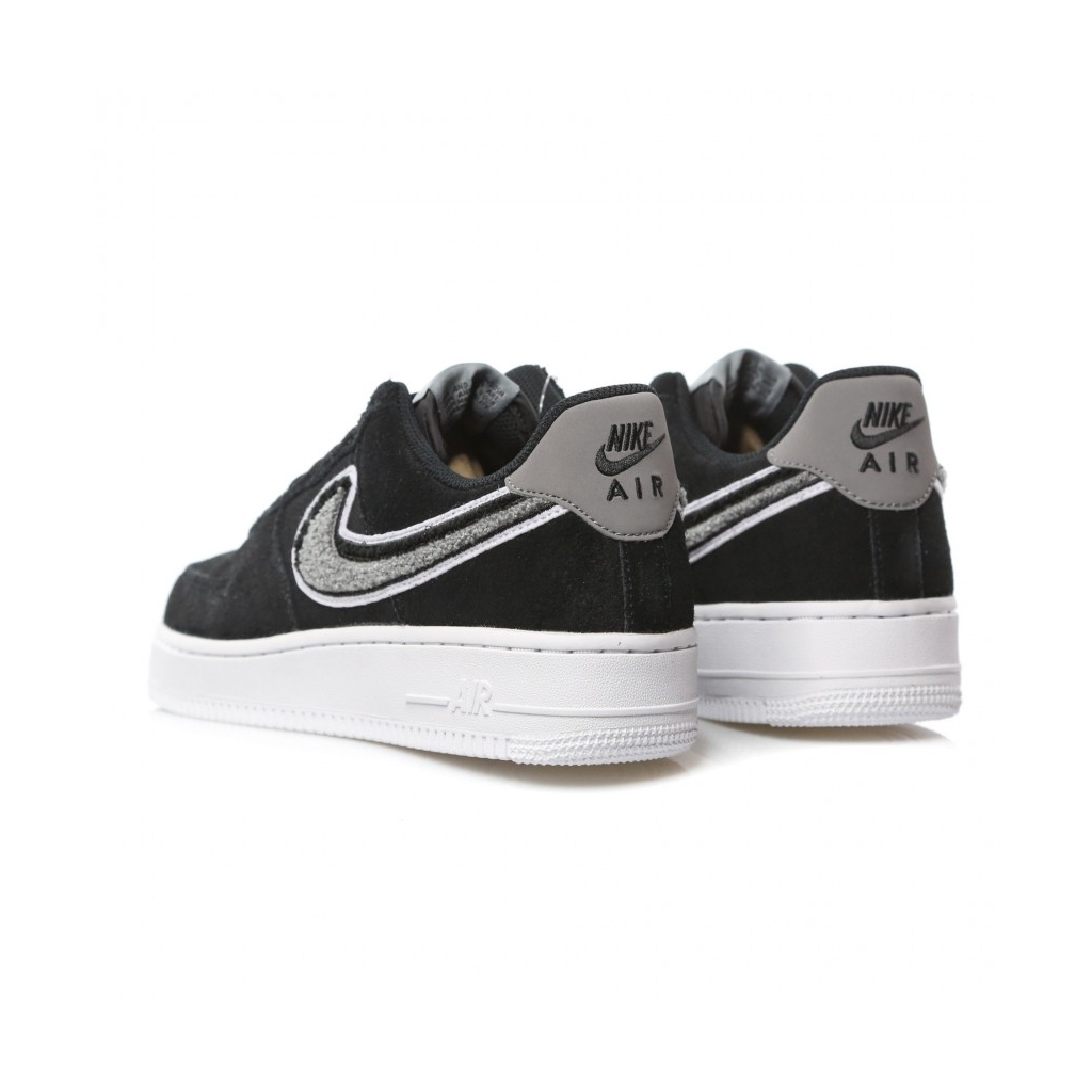 NIKE SCARPA BASSA AIR FORCE 1 07 LV8 BLACKWHITECOOL GREY