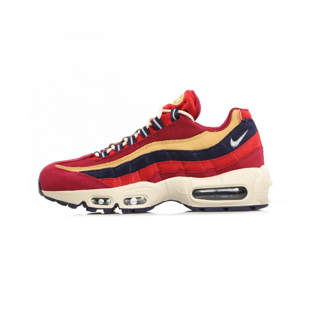 new concept e4598 8338c AIR MAX 95 LOW SHOE PRM RED CRUSH   PROVENCE PURPLE   WHEAT GOLD