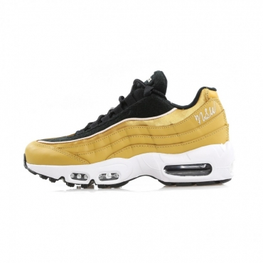 SCARPA BASSA WMNS AIR MAX 95 LX WHEAT GOLD/WHEAT GOLD/BLACK