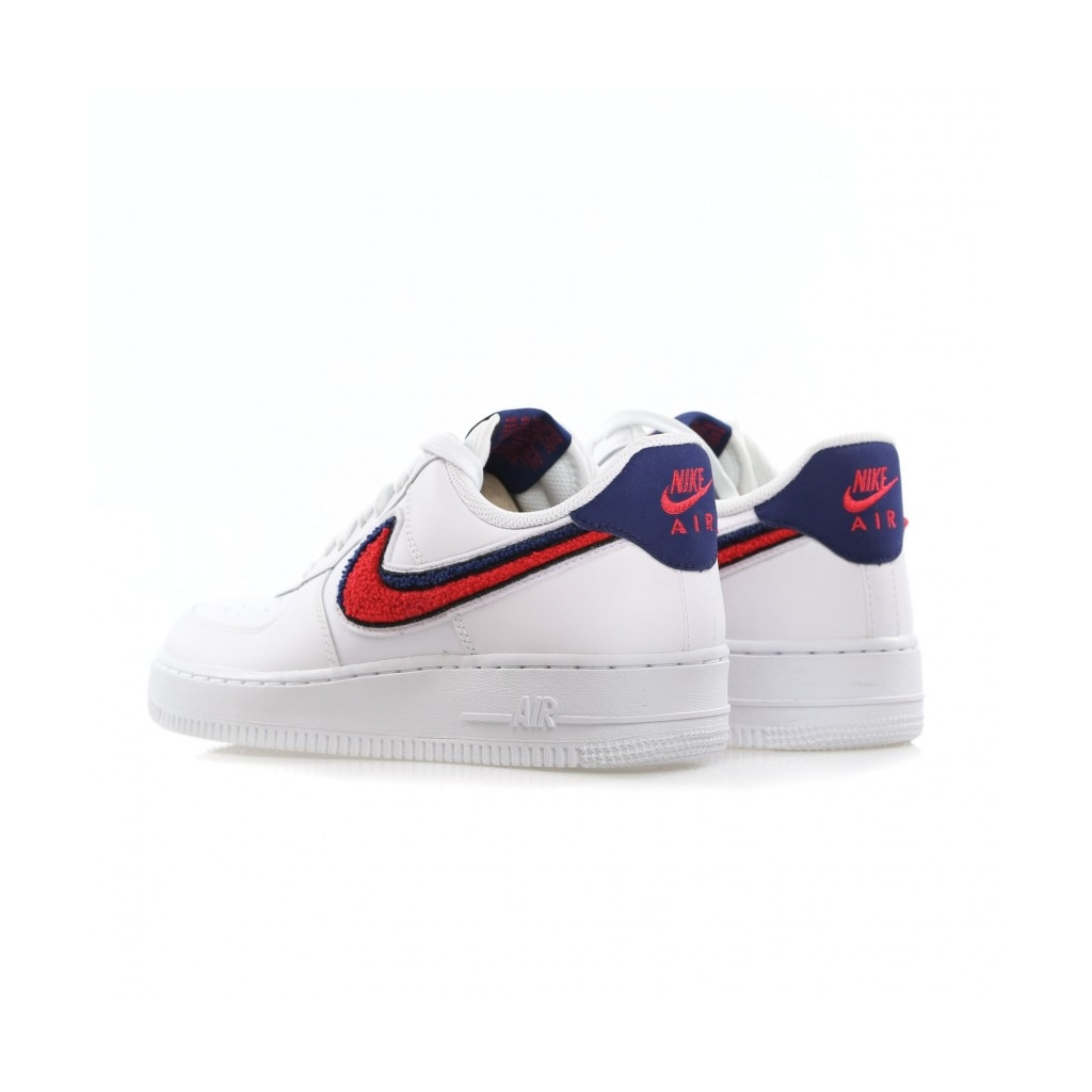 Nike Air Force 1 Low 07 Lv8 White Blue Void Uomo