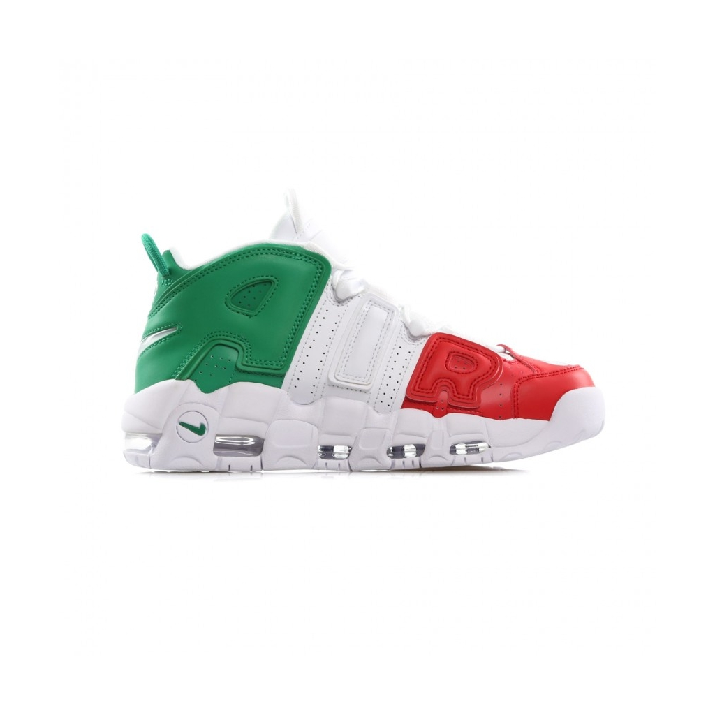 HIGH SHOE AIR MORE UPTEMPO 96 ITALY QS UNIVERSITY RED   WHITE   LUCID GREEN 7aec983e54b