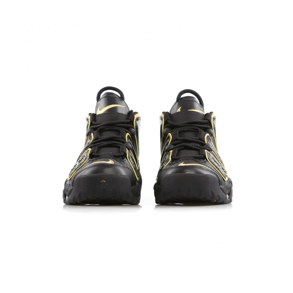 84f527a31c6 HIGH SHOE AIR MORE UPTEMPO 96 FRANCE QS BLACK   METALLIC GOLD ...