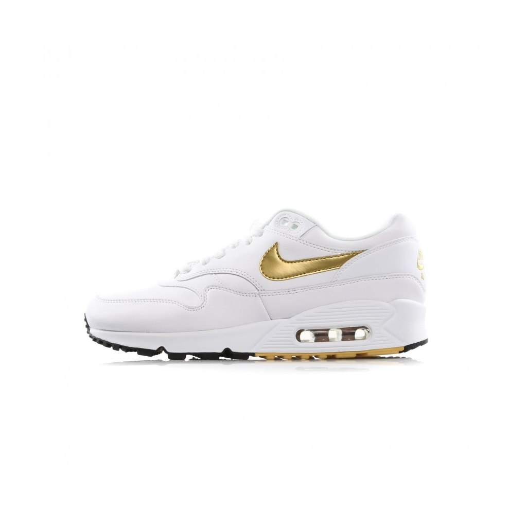 SCARPA BASSA AIR MAX 901 WHITEMETALLIC GOLDBLACK