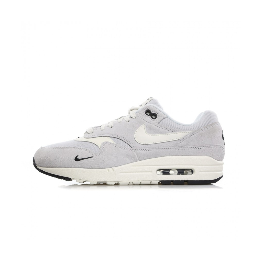 best service 9d09a 85732 LOW SHOE AIR MAX 1 PREMIUM PURE PLATINUM   SAIL   BLACK   WHITE