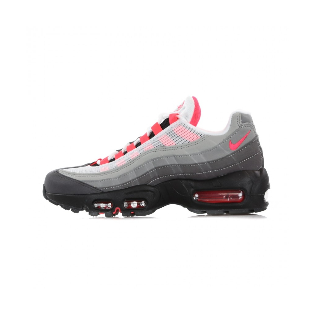 half off 2562b 4c103 LOW SHOE AIR MAX 95 OG WHITE   SOLAR RED   GRANITE   DUST