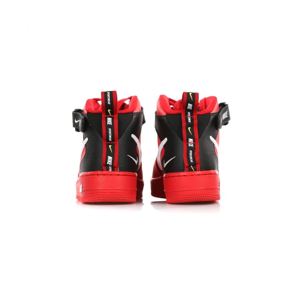 HIGH SHOE AF1 MID 07 LV8 UNIVERSITY RED   WHITE   BLACK   YELLOW ... 9e8bf967e