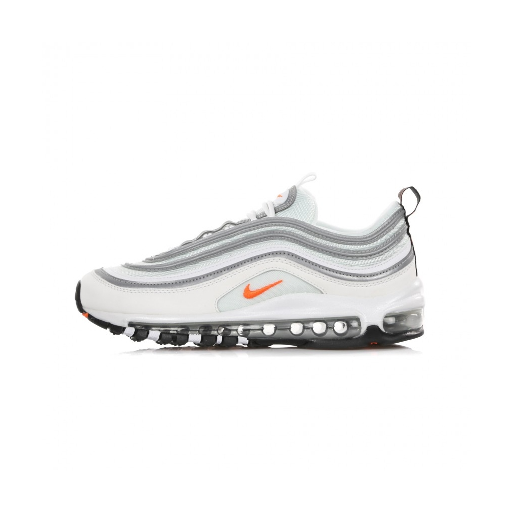 free shipping 70ef3 4dd0e LOW SHOE AIR MAX 97 WHITE   CONE   METALLIC SILVER