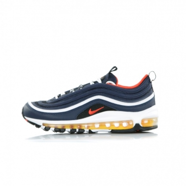 SCARPA BASSA AIR MAX 97 MIDNIGHT NAVY/HABANERO RED/BLACK/WHITE