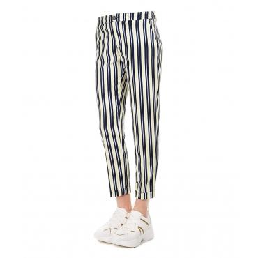 Pantaloni a strisce Blue