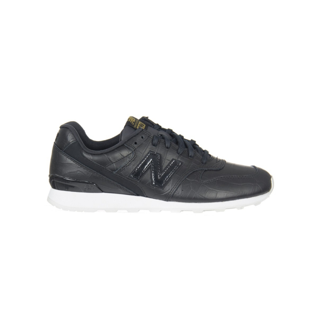 New Balance 996 Women's Crb Leather Lifestyle Shoe CRB BLACK