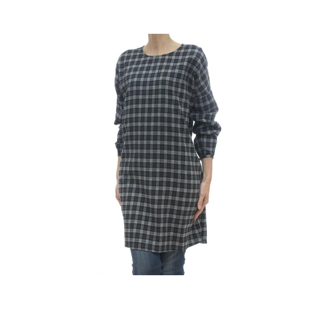 T-Shirt - S2729 Kleid 34 - grau