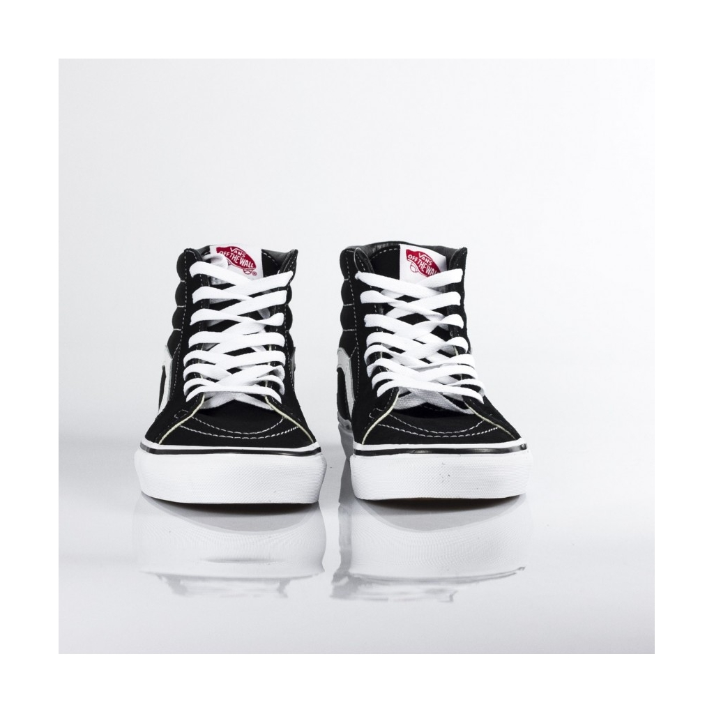 SK8-HI HIGH SHOE BLACK / BLACK / WHITE