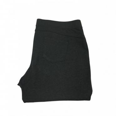 ELENA MIRO pantalone donna viscosa con elastico rivestito mod P824T0815T Grigio