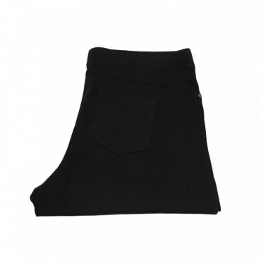 ELENA MIRO pantalone donna viscosa con elastico rivestito mod P824T0815T Nero