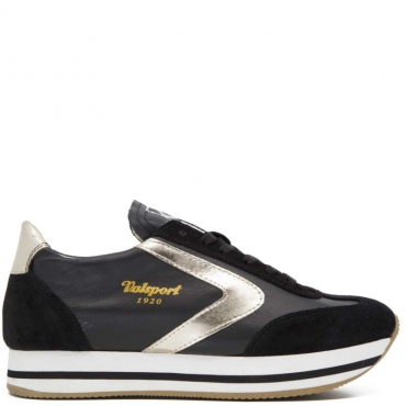 Sneakers Soft Lady NERO/ORO