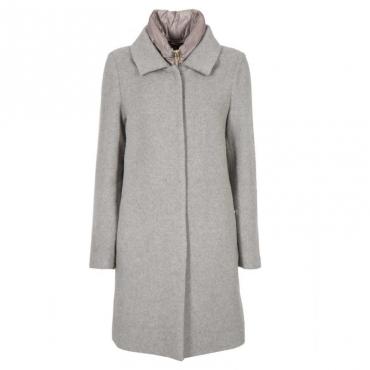Cappotto in misto lana con piumino estraibile 71