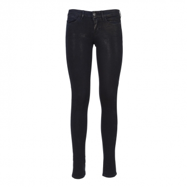 Jeans ultra skinny con effetto lurex BEAI