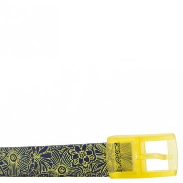 Cintura con motivi floreali gialli UNICO