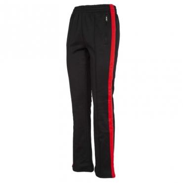 Pantaloni in cotone con bande laterali 099CKBLACKRA
